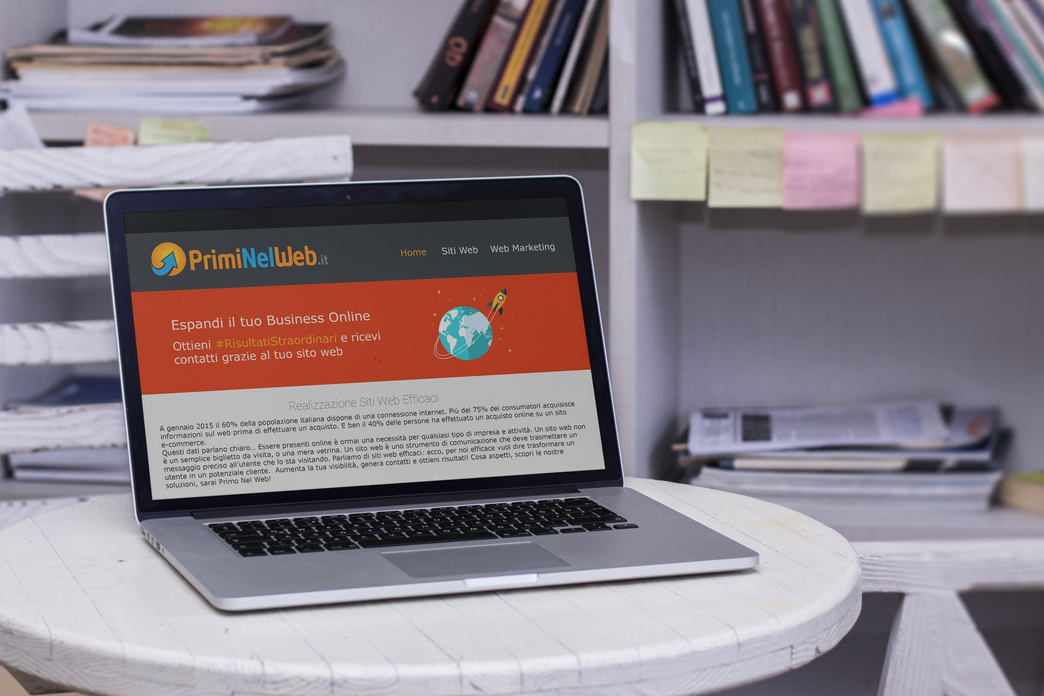 Siti Web Wordpress - PrimiNelWeb.it