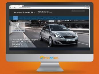 Sito Web Wordpress Autocentro Pantano