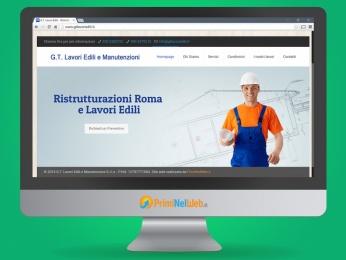 Sito Web Wordpress GT Lavori Edili